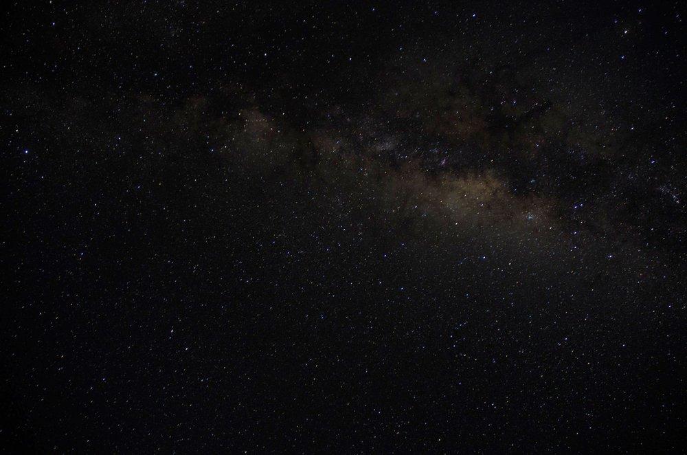 Stars in Uyuni, Bolivia