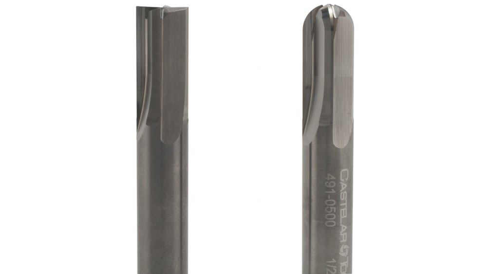straight flute - 4 Flute End MillFor Hardened Steel and Cast Iron