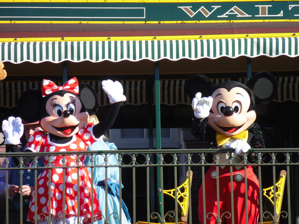 Minnie Mouse and Mickey Mouse, Magic Kingdom