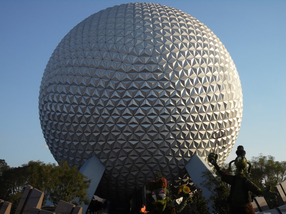 Spaceship Earth, EPCOT Flower and Garden Festival