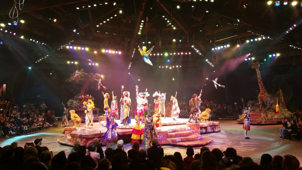 Festival of the Lion King, Africa, Animal Kingdom