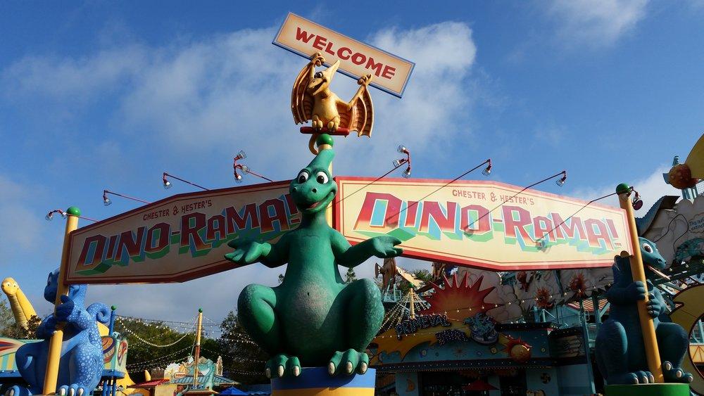 Chester and Hester's Dino-Rama, Dino-Land U.S.A., Animal Kingdom