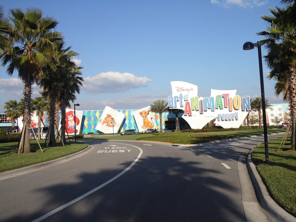 Entrance, Disney's Art of Animation Resort