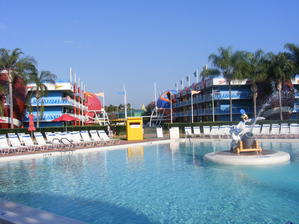 Grand Slam Pool, Disney's All-Star Sports Resort
