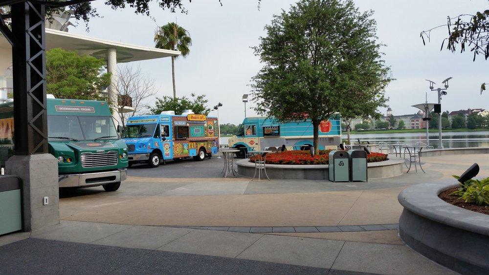 Disney Springs Theme Park Food Trucks