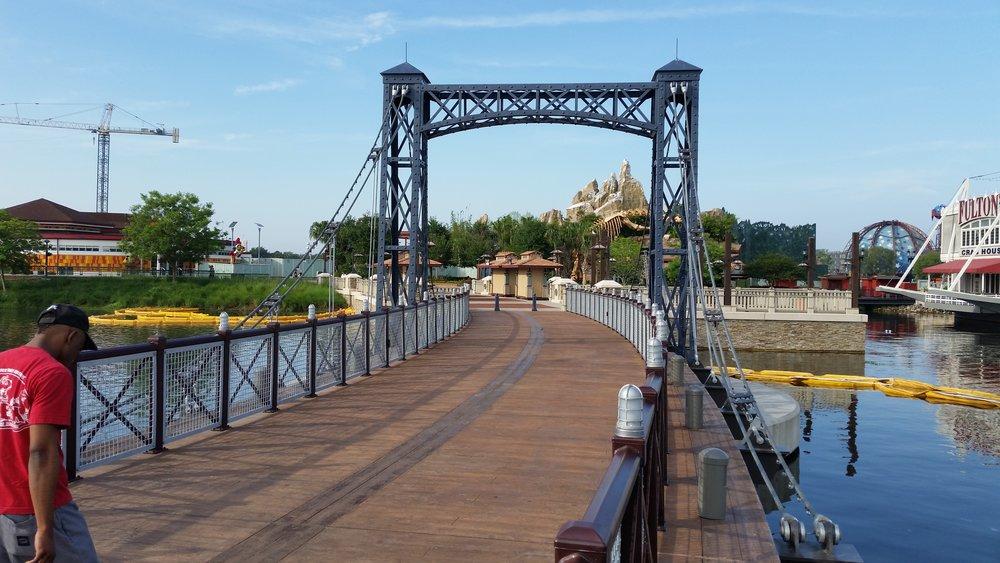 Disney Springs Marketplace Bridge
