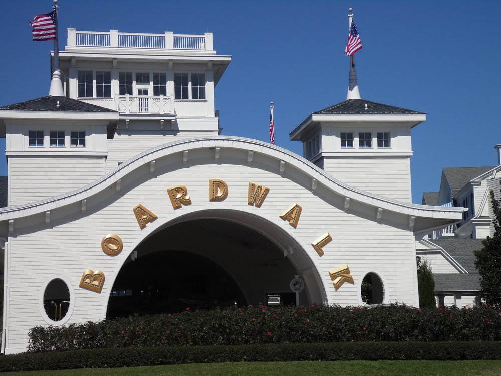 Entrance, Disney's Boardwalk