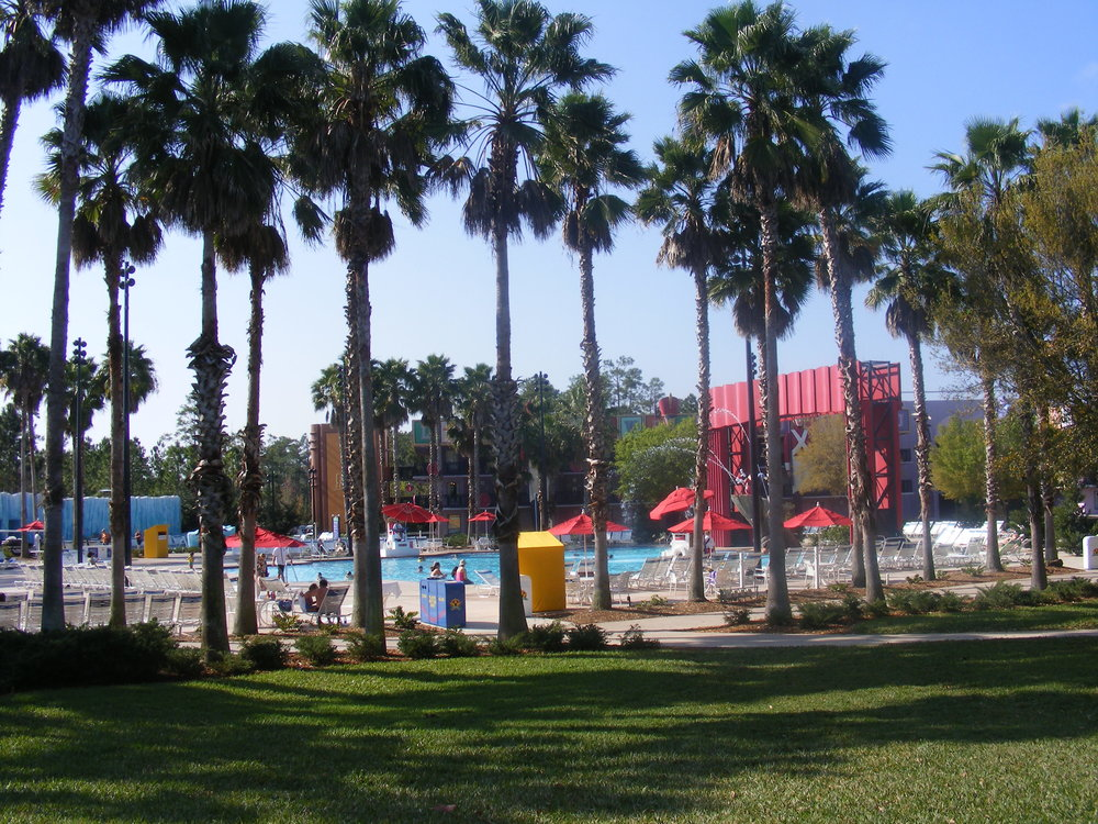 Fantasia Pool, All-Star Movies Resort