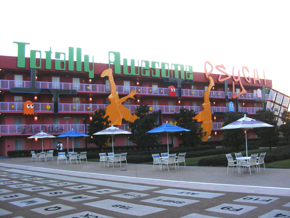 1980's, Pop Century Resort