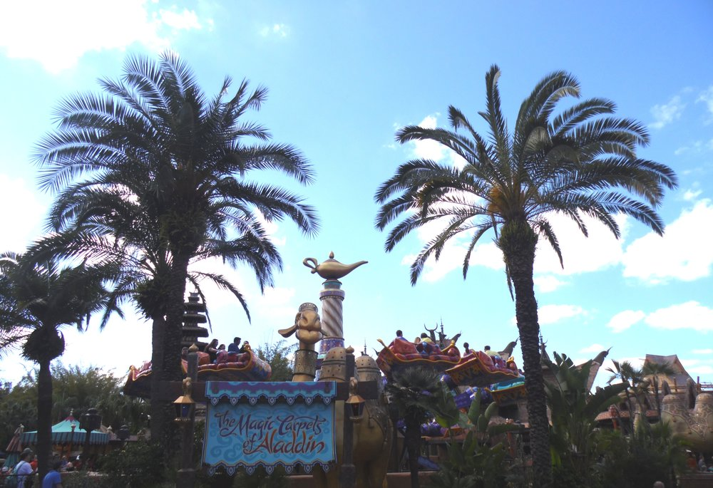 The Magic Carpets of Aladdin, Adventureland, Magic Kingdom