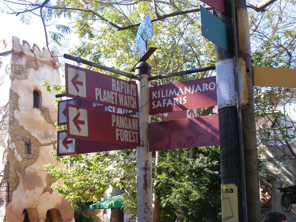Africa Street Signs