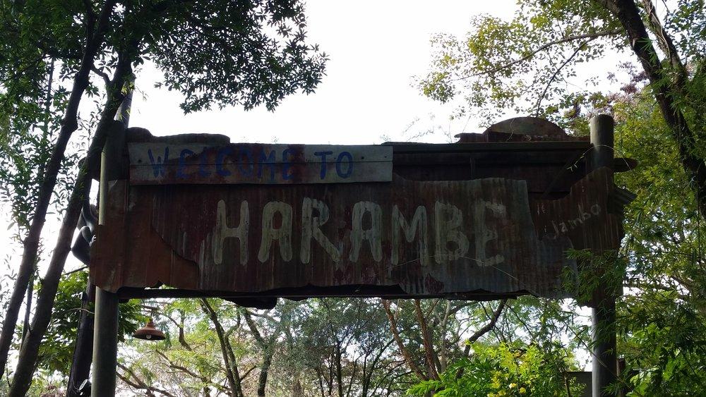 Harambe Entrance, Africa