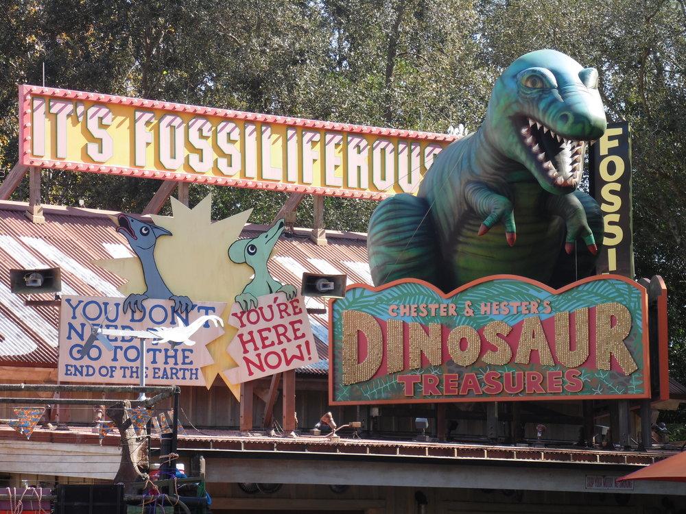Chester & Hester's Dinosaur Treasures