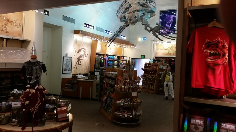 The Dino Institute Gift Shop