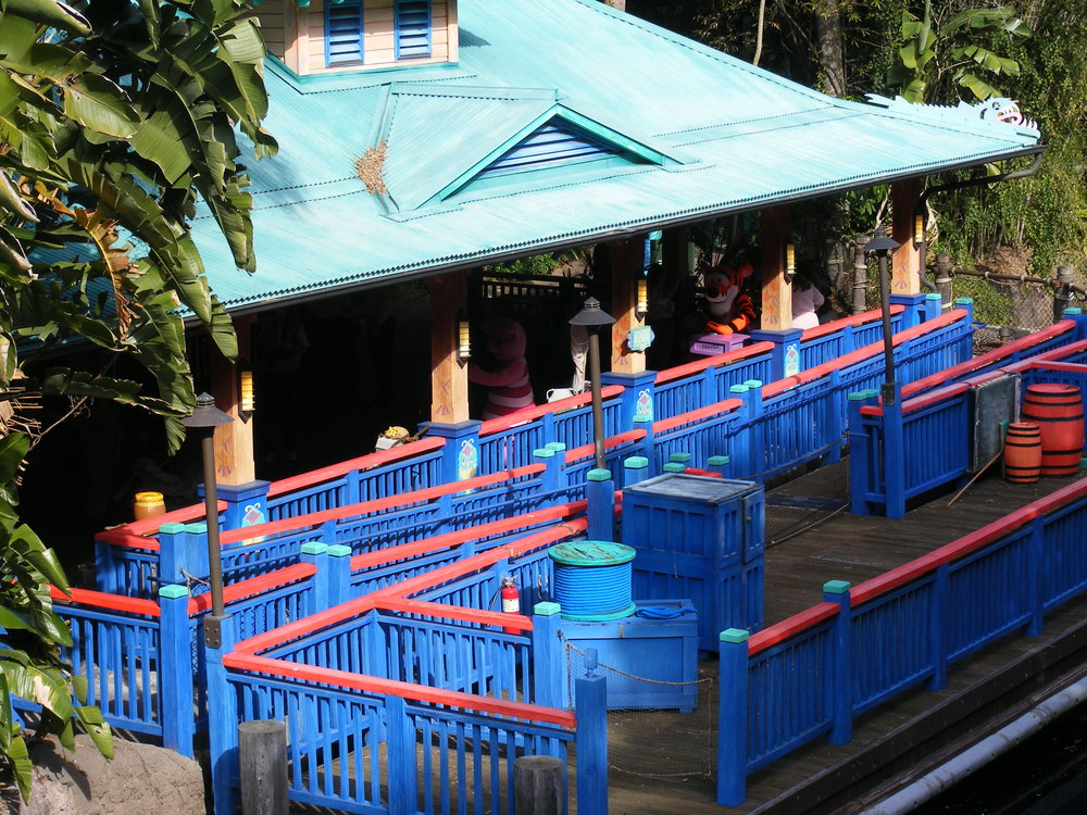 Discovery Island Character Landing