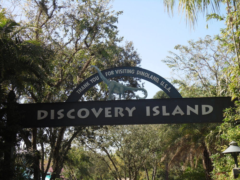 Discovery Island Entrance