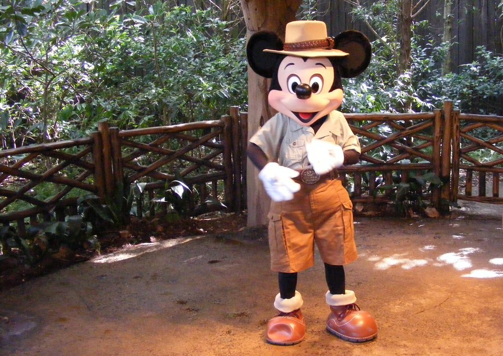 Mickey Mouse - Adventurer's Outpost