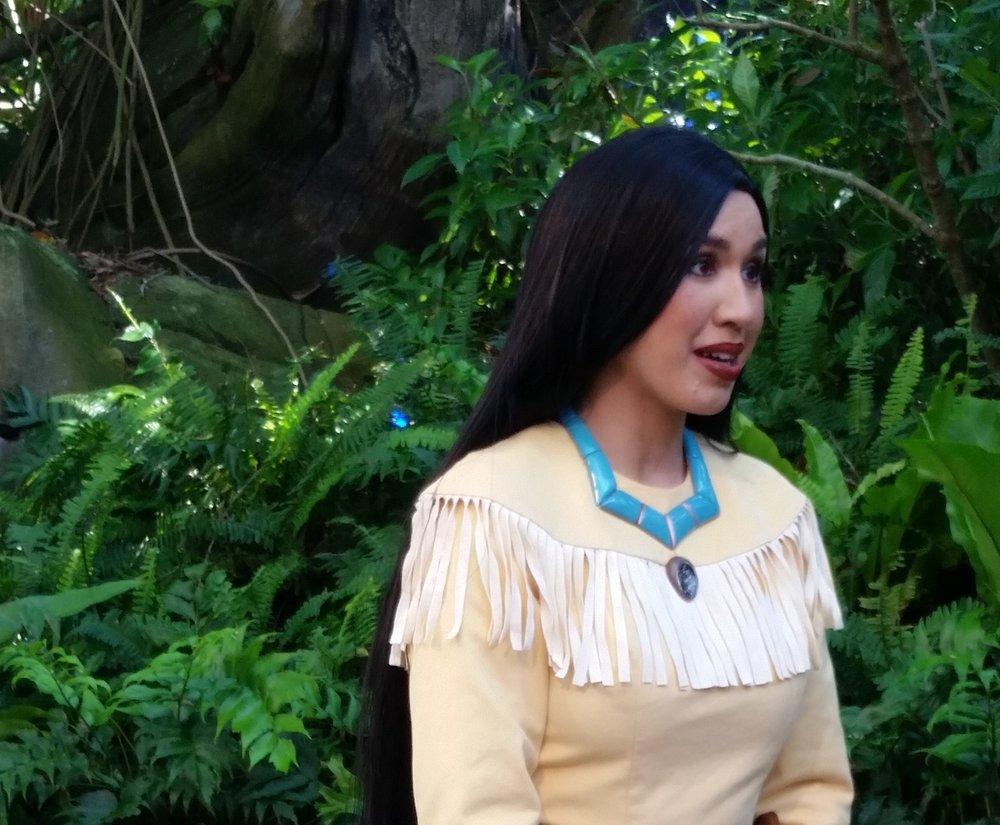 Pocahontas - Discovery Island Trails