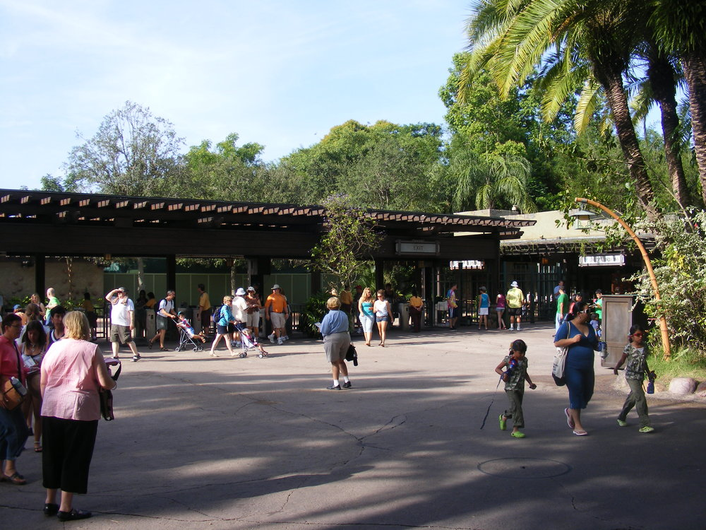 The Oasis Entrance