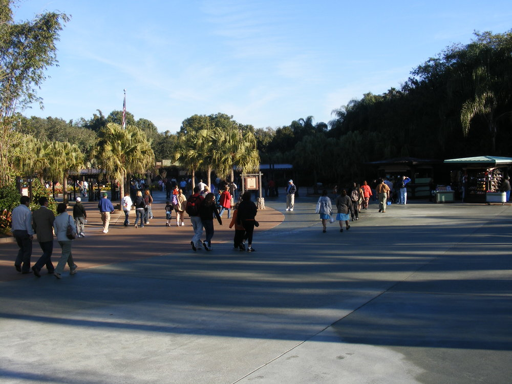 Animal Kingdom Entrance Plaza