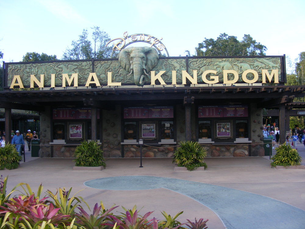 Animal Kingdom Ticket Booths