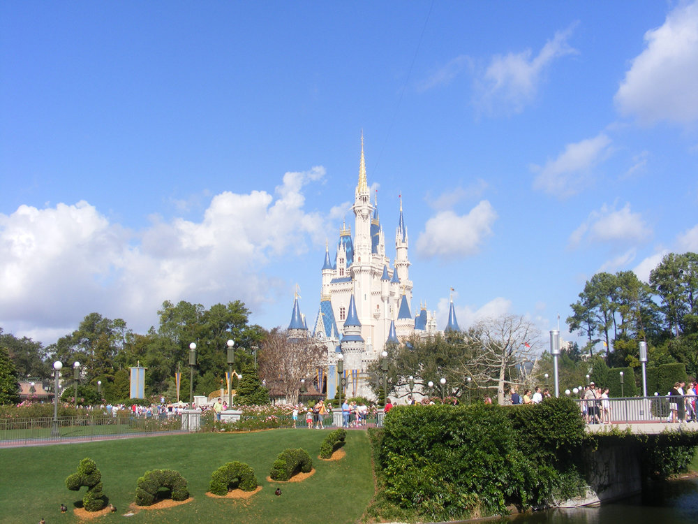 Cinderella Castle, Fantasyland, Magic Kingdom, Walt Disney World