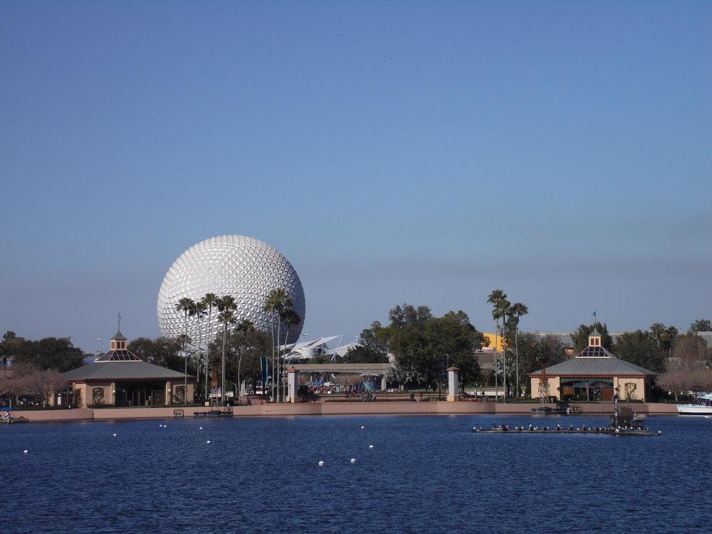 Spaceship Earth, Future World, EPCOT, Walt Disney World
