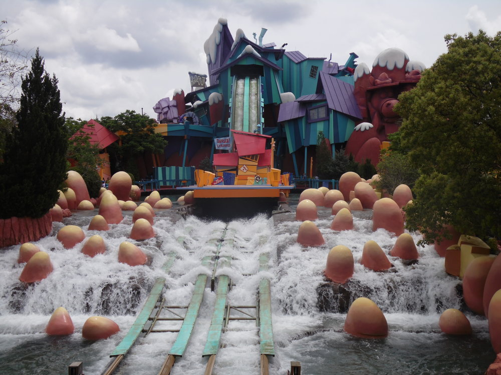 Dudley Do-Right's Ripsaw Falls, Toon Lagoon, Islands of Adventure, Universal Orlando