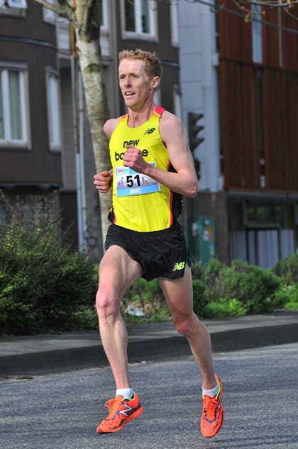 Eric Gillis is a three-time Canadian 10K champion.