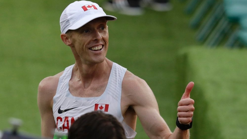 Eric Gillis, a graduate of St. Francis Xavier University, finished 10th in the Olympic marathon in 2016.