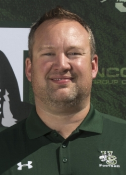 University of Saskatchewan football coach Scott Flory.