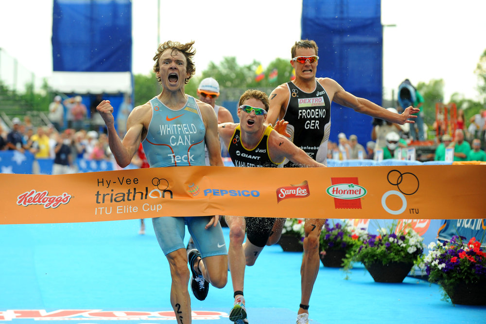 Simon Whitfield: 'Being a good leader is all about taking focus off yourself.' (ITU)