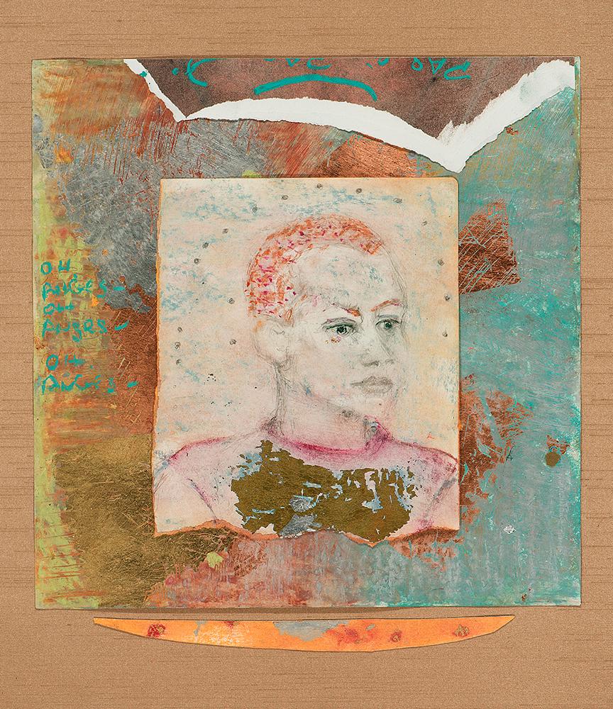 Portrait of Emma Gonzalez as Joan of Arc by Noa Ain