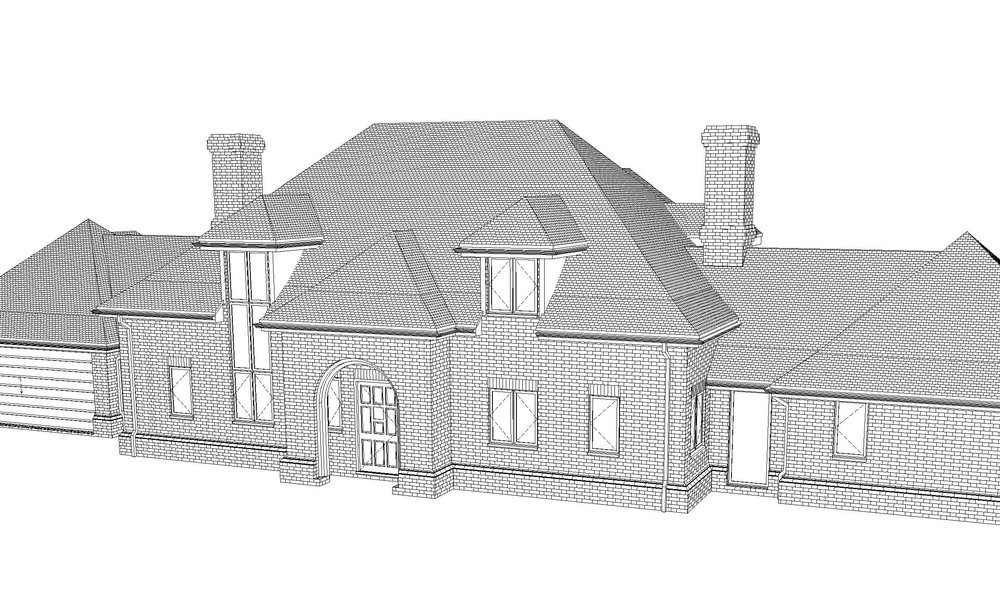 3d view of front