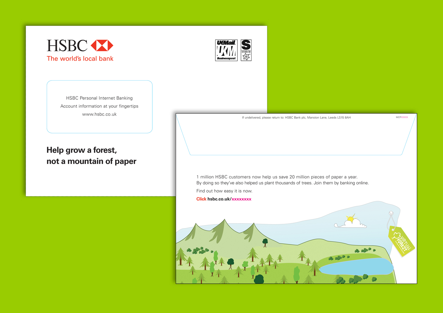 HSBC online statement switch direct mail  — Jeanne Caminade