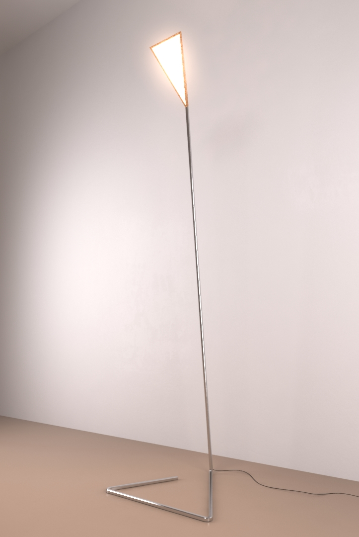 Or What Stainless Steel Lamp by Studio Deusdara - Product Design and Furniture