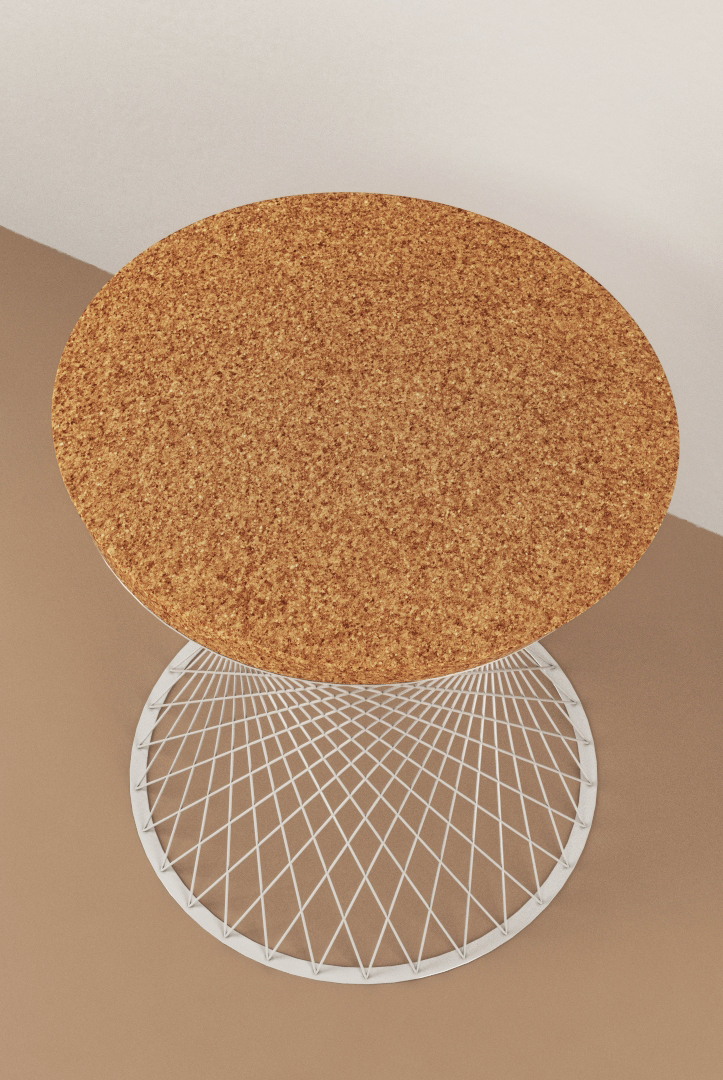 Mandala Wired Stool by Studio Deusdara - Product Design and Furniture