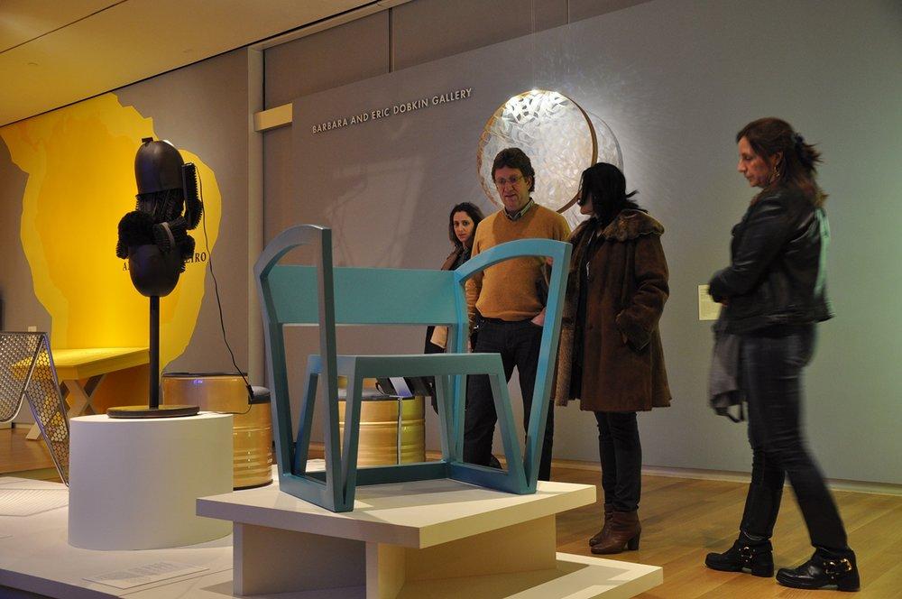 URock no MAD Museum em Nova Iorque.