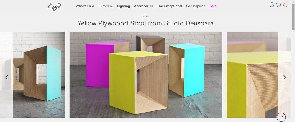 Tem o banco Plywoood também!
