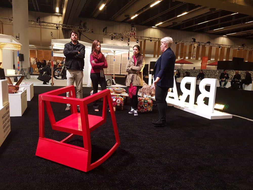 U Rock Chair no World Design Summit | Foto: BR2CA