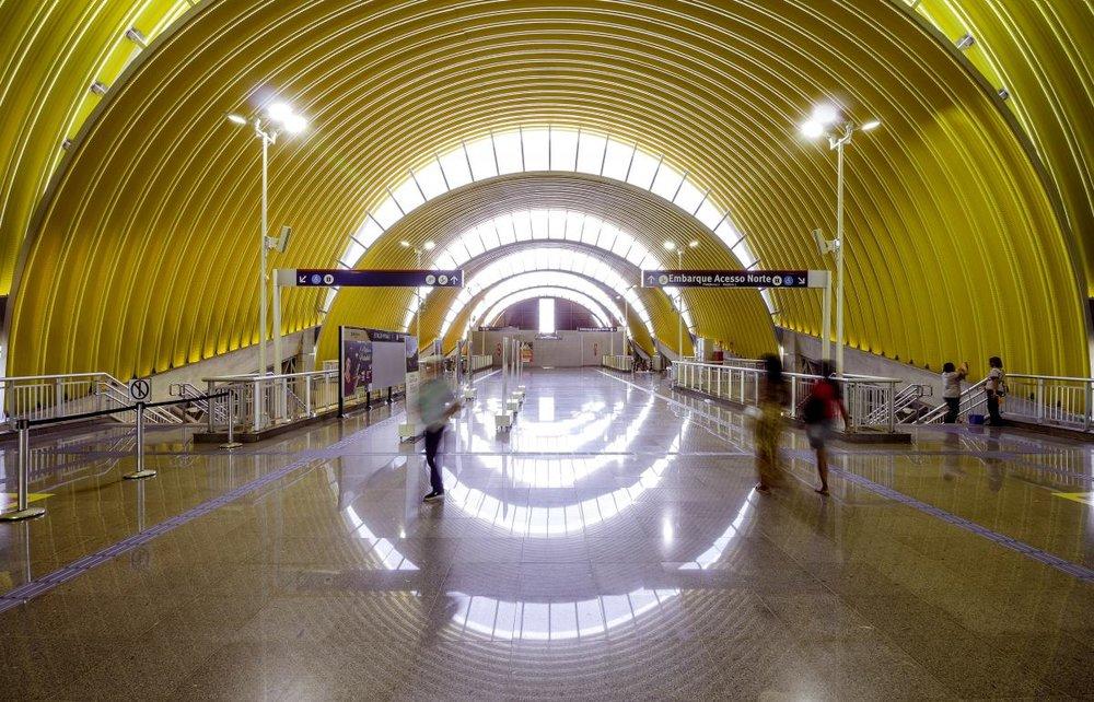 Foto: Site WAF - Estação de Metro de Salvador/Bahia - Projeto JBMC Arquitetura e Urbanismo