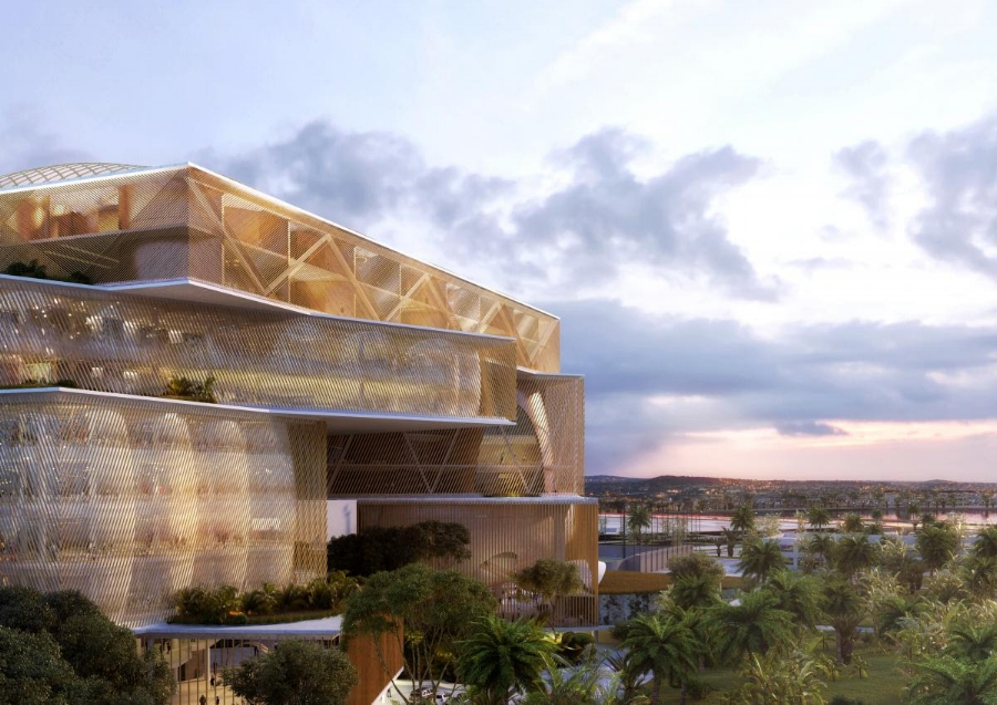 New Supreme Court of Philippines - CAZA | Image: Site World Architecture Festival