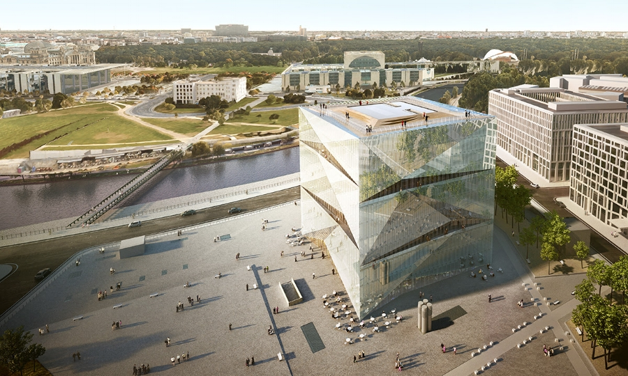 Cube Berlim  -  3XN Architects | Image: Site World Architecture Festival