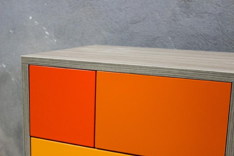 Orange Real Sideboard Buffet by Studio Deusdara - Product Design and Furniture