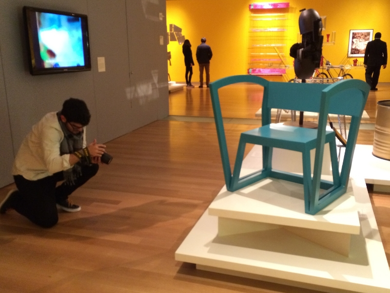 U Rock Outside Plastic Chair MAD Museum by Studio Deusdara - Product Design and Furniture