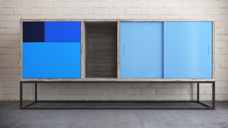 Our Blue Real Sideboard
