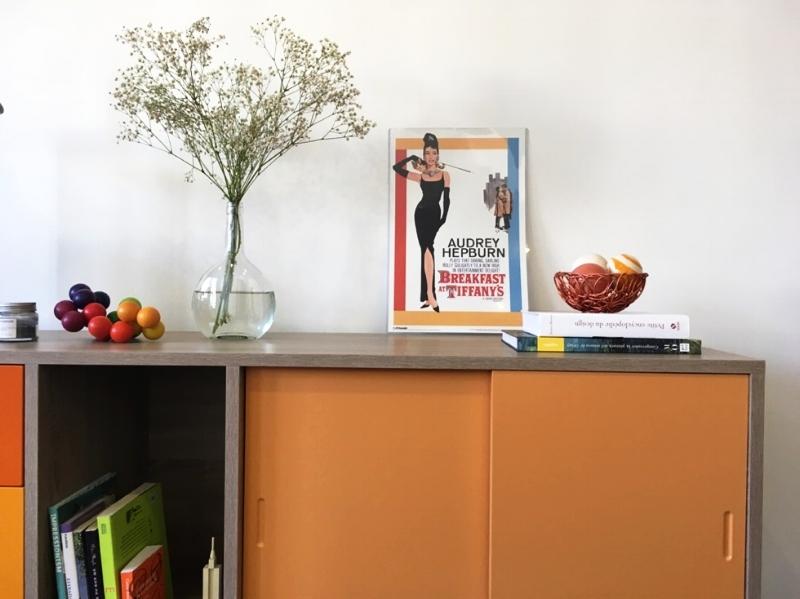 Orange Real Sideboard