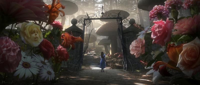 """Photo: """"Alice in Wonderland"""" (2010) -  Slash Film"""