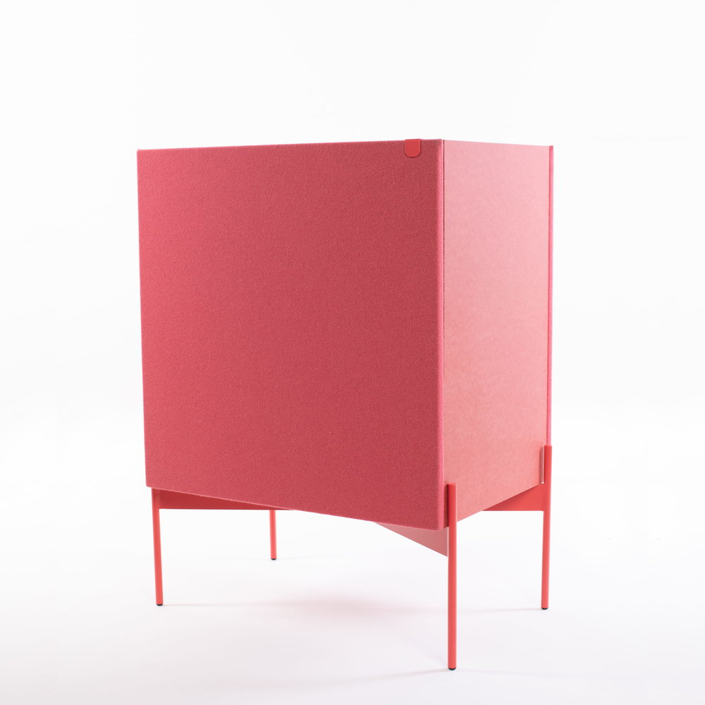 The Pink version fot the Louriga Sideboard.