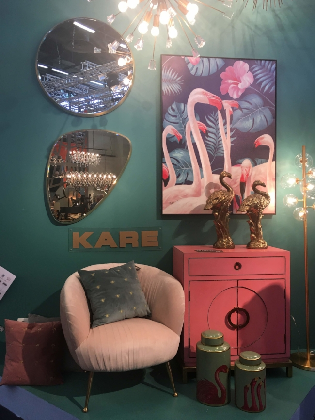 Kare ´s booth.